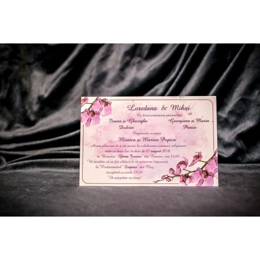 Invitatie de nunta 4026 BUKET-BEST