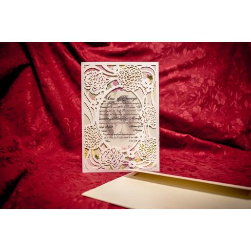 Invitatie de nunta 4050 BUKET-BEST