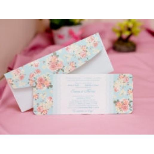 Invitatie de nunta florala 410