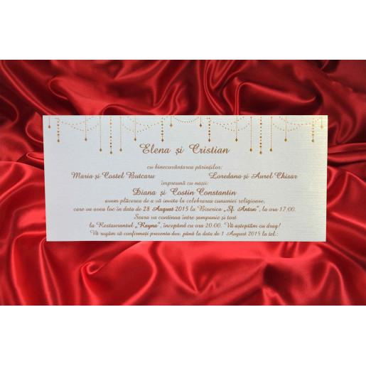 Invitatie eleganta 463