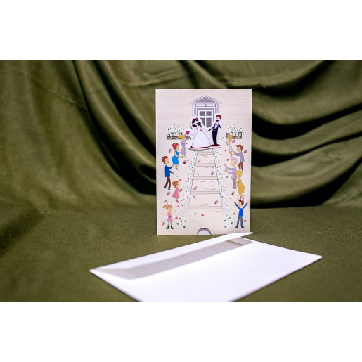 Invitatie de nunta 5017 BUKET-BEST