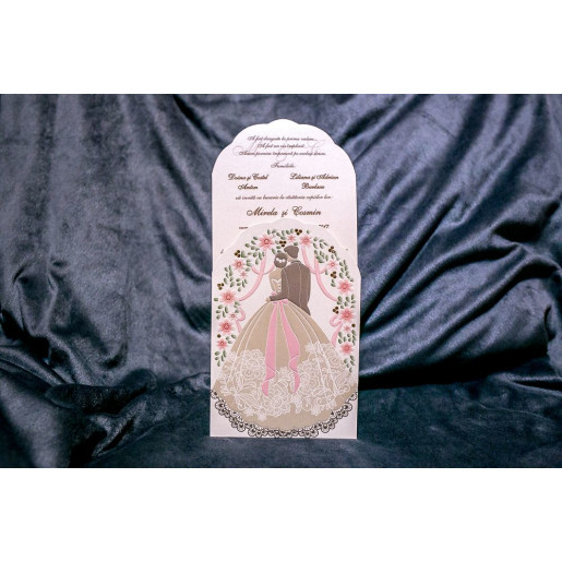 Invitatie de nunta 5024 BUKET-BEST