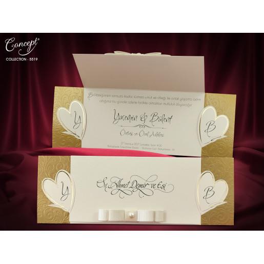 Invitatie de nunta eleganta 5519 CONCEPT