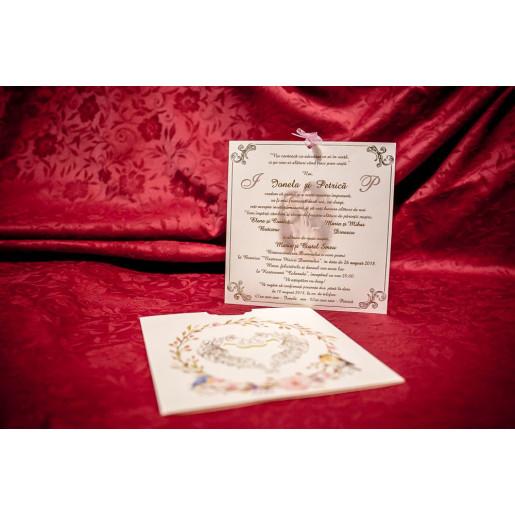 Invitatie de nunta 6037 BUKET-BEST