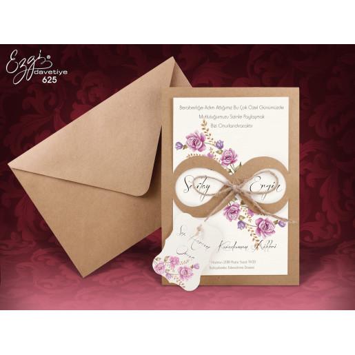 Invitatie De Nunta Florala 625