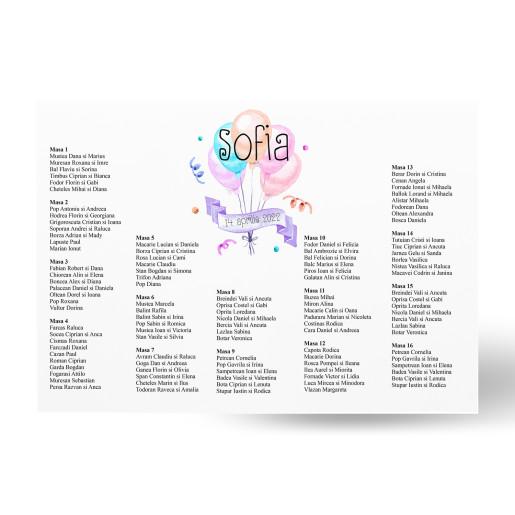 Lista de invitati - L71 Botez