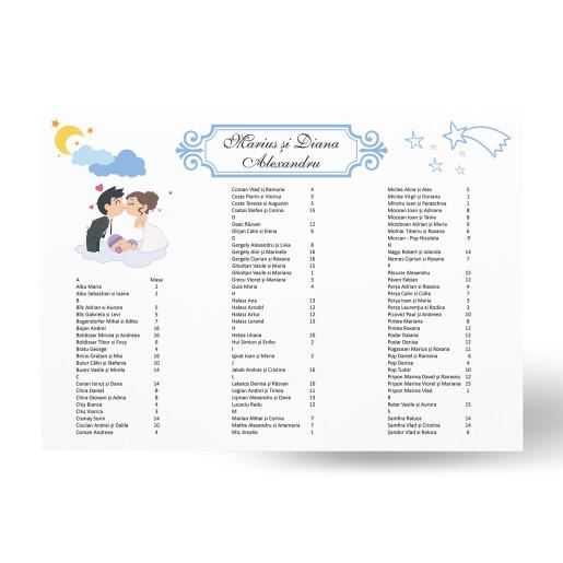 Lista de invitati - L81
