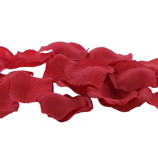 Petale artificiale rosii de trandafir