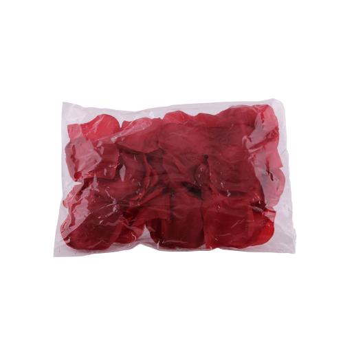 Petale artificiale de trandafir visinii