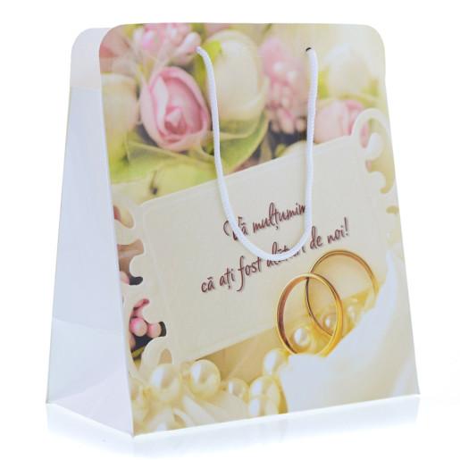 Punga 1 Cadouri Nunta PREMIUM Romantica cu Verighete PT 20