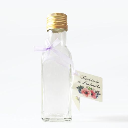 Sticla marturii 125 ml Cognac R PP 31.5
