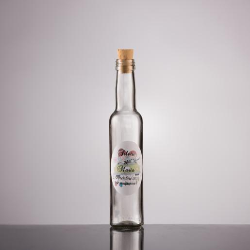 Sticla marturii nunta vin 200 ml