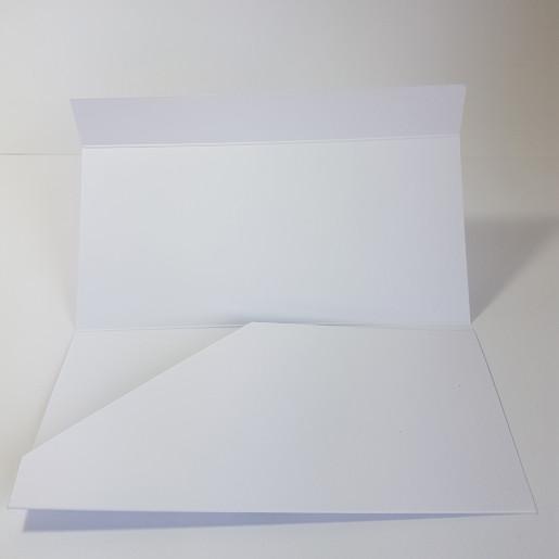 Plic pentru bani PB62 - Alb