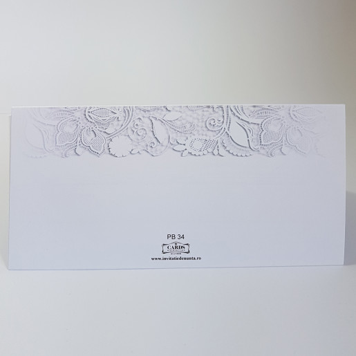 Plic pentru bani PB34 - Alb