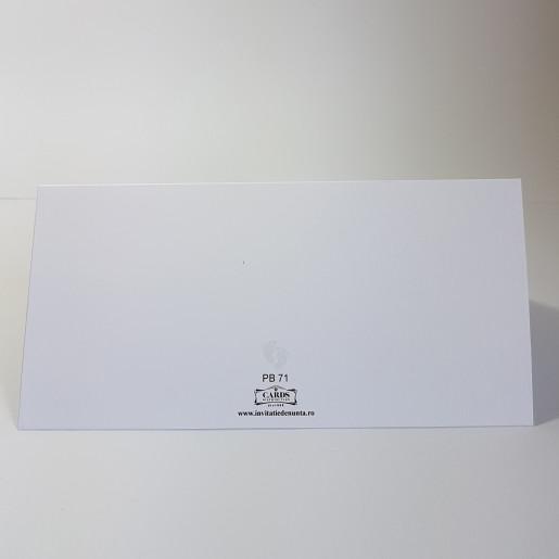 Plic pentru bani PB71 - Alb