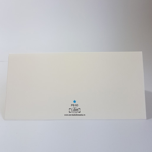 Plic pentru bani PB60 - Crem