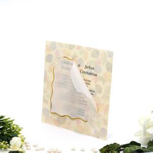 Invitatie de nunta cu calc 150015 TBZ