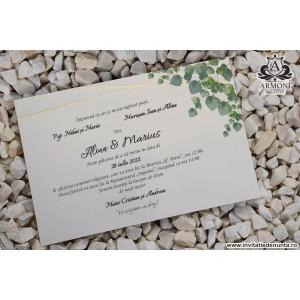 Invitatie cu frunze 19308 ARMONI
