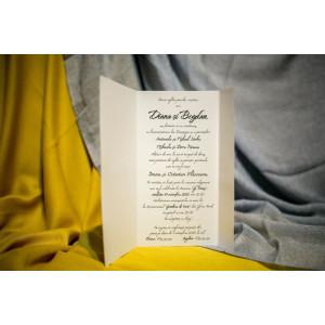 Invitatie de nunta 206 NEW BEST
