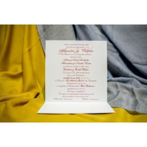 Invitatie de nunta 216 NEW BEST