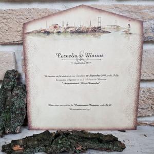 Invitatie de nunta 2664 POPULAR