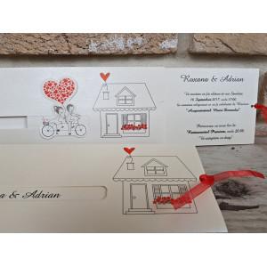 Invitatie de nunta 2667 POPULAR