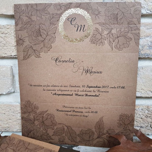 Invitatie de nunta 2708 POPULAR