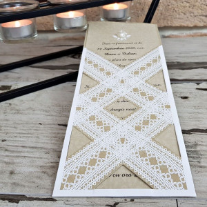 Invitatie de nunta 2758 POPULAR