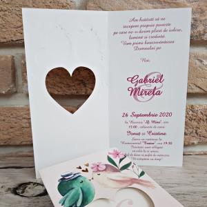 Invitatie de nunta 2787 POPULAR