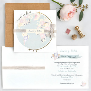 Invitatie Travel is Fun 39702 CLARA