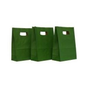 Punga M mica 18x9x25 cm verde inchis 311637