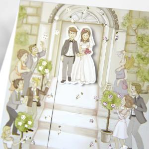 Invitatie de nunta haioasa 31310 CLARA