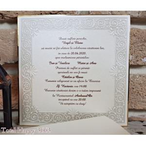 Invitatie de nunta 3663 SEDEF