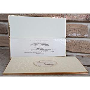 Invitatie de nunta eleganta 3670 SEDEF