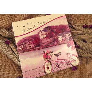 Invitatie cu bicicleta 52527 ELA