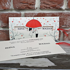 www.invitatiedenunta.ro_Invitatie_de_nunta_cu_miri_sub_umbrela_si_inimioare_5484_CONCEPT
