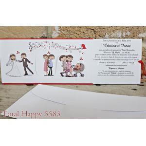Invitatie de nunta 5583 CONCEPT