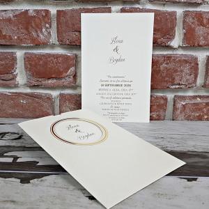 Invitatie de nunta clasica 5588 CONCEPT