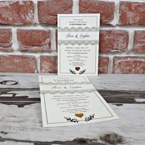 Invitatie de nunta ramura de maslin 5610 CONCEPT