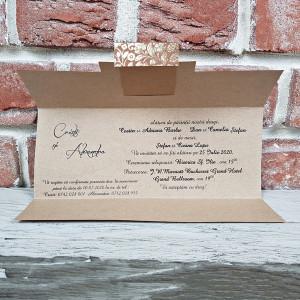 Invitatie de nunta vintage 5619 CONCEPT