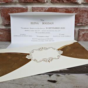 Invitatie de nunta stil baroc 5627 CONCEPT