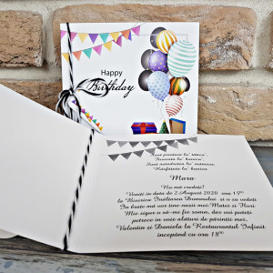 Invitatie party aniversare 8044 SEDEF