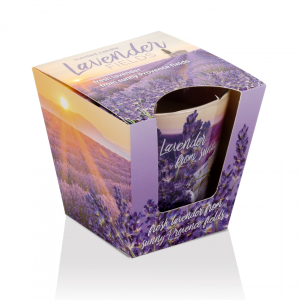 Lumanare parfumata Campuri de Lavanda 115 g BC5644