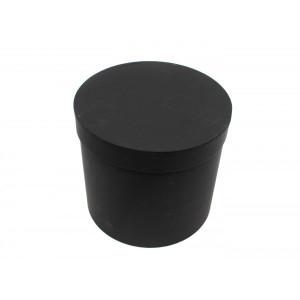 Cutie Carton Neagra Rotunda Simpla 3/Set CTC132