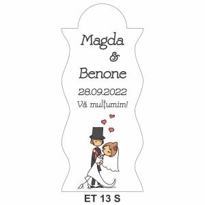 Eticheta pentru sticla ET 13 S