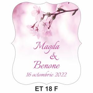 Eticheta pentru sticla ET 18 F