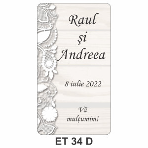 Eticheta autocolanta ET 34 D