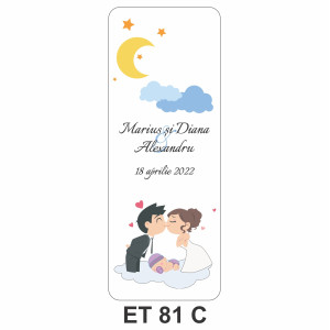 Eticheta pentru sticla ET 81 C