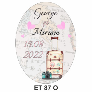 Eticheta pentru sticla ET 87 O