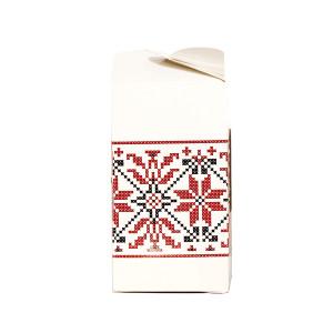 Cutie borcan cu motiv traditional CN 1031